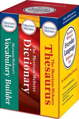 Merriam-Webster's Everyday Language Reference Set   -