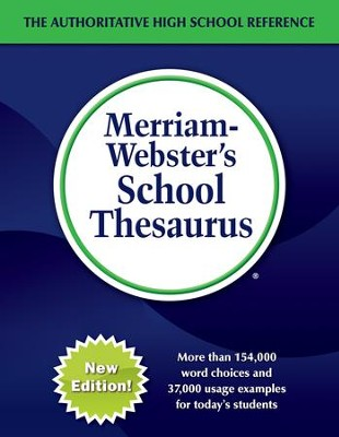 Merriam-Webster's School Thesaurus (New Edition)   -
