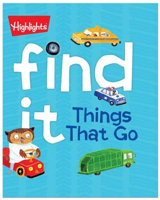 Things That Go (Find It!)  -