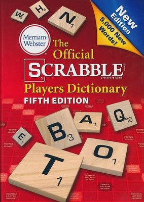 The Official SCRABBLE Players Dictionary, Fifth  Edition  -