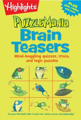 Brain Teasers (Puzzle Pad)  -