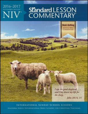 NIV Standard Lesson Commentary 2016-2017, softcover  -