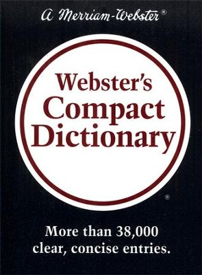 Webster's Compact Dictionary   -