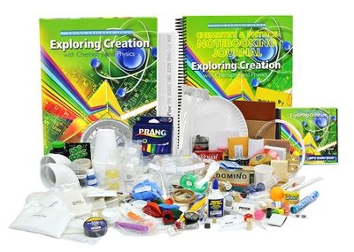 Exploring Creation with Chemistry and Physics  Curriculum & Lab Mega Set (with Notebooking Journal)  -