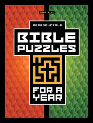 Bible Puzzles for a Year  -