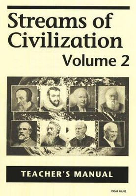 Streams of Civilization, Volume 2, Answer Key, Grade 10    -     By: Lars R. Johnson