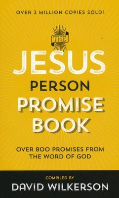 The Jesus Person Promise Book, repackaged  -     By: David Wilkerson