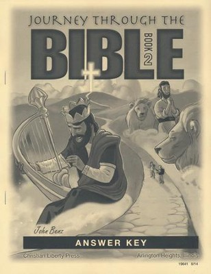 Journey Through The Bible Book 2 Answer Key   -     By: John Benz