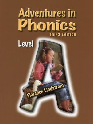 Adventures in Phonics Level A Workbook, 3rd Edition, Kindergarten    -
