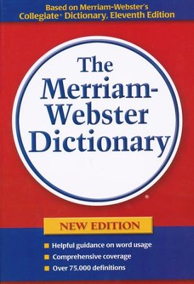 The Merriam-Webster Dictionary, Paperback   -