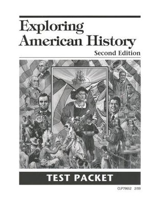Exploring American History Second Edition Test Packet, Grade 5    -