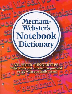 Merriam-Webster's Notebook Dictionary   -