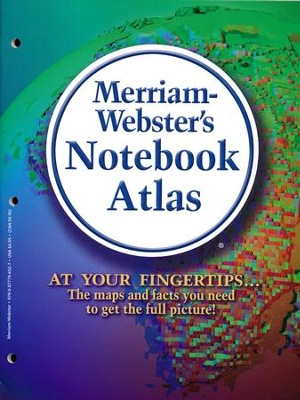 Merriam-Webster's Notebook Atlas   -