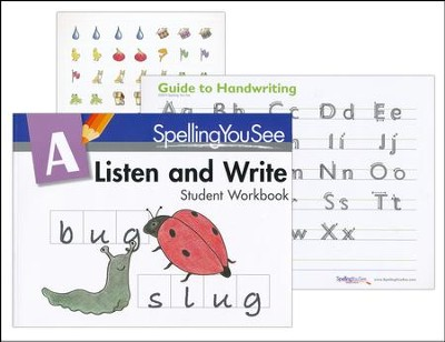Spelling You See Level A: Listen and Write Student Pack  -     By: Dr. Karen Holinga Ph.D.