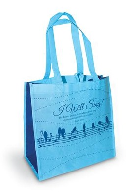 I Will Sing Eco Tote  -