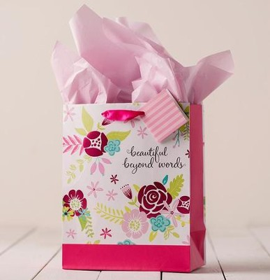 Beautiful Beyond Words Specialty Gift Bag, Medium  -