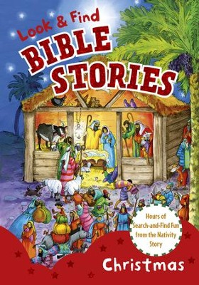 Look and Find Bible Stories: Christmas - eBook  -