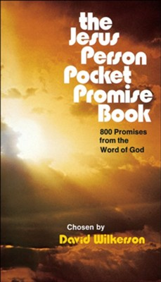 The Jesus Person Pocket Promise Book: 800 Promises from the Word of God  -     By: David Wilkerson