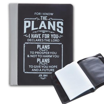I Know the plans, Black Photo Wallet  -