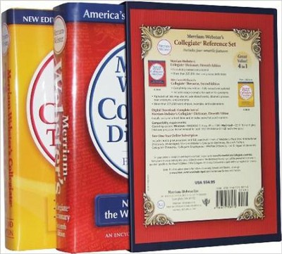 Merriam-Webster's Collegiate Reference Set   -