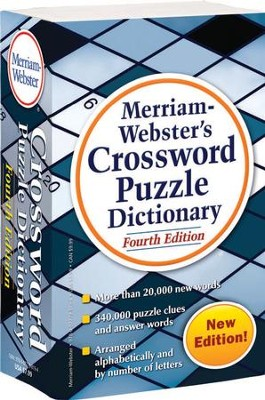 Merriam-Webster's Crossword Puzzle Dictionary, Fourth Edition  -