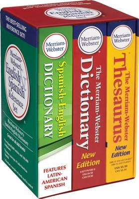 Merriam-Webster's English & Spanish Reference Set   -