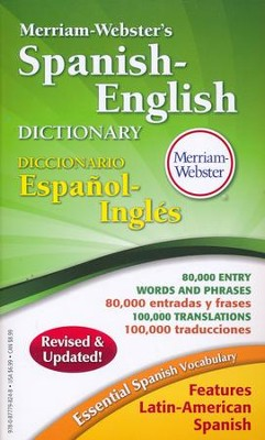Merriam-Webster Spanish-English Dictionary (Revised & Updated Edition)  -