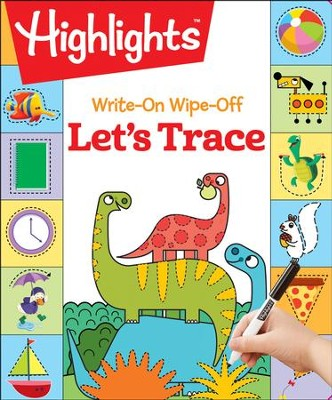 Let's Trace Write-On Wipe-Off  -     By: Highlights