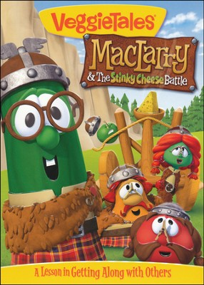 MacLarry & the Stinky Cheese Battle: VeggieTales DVD   -