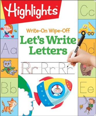 Let's Write Letters Write-On Wipe Off  -     By: Highlights