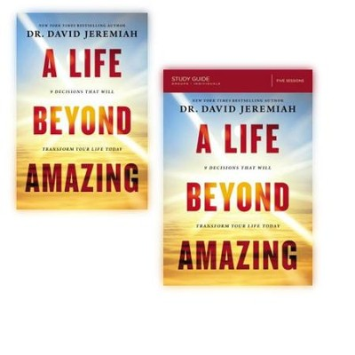 A Life Beyond Amazing, Book & Study Guide   -     By: David Jeremiah