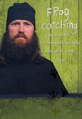 Duck Dynasty, Jase, Frog Catching Birthday Cards, Pack of 6  -