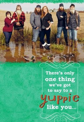 Duck Dynasty, Family Yuppie Birthday Cards, Pack of 6  -
