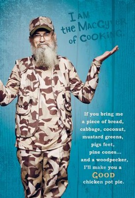Duck Dynasty, Si Cooking Birthday Cards, Pack of 6  -
