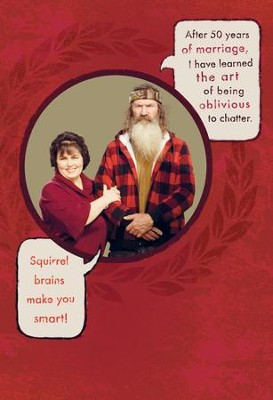 Duck Dynasty, Miss Kay & Phil Anniversary Cards, Pack of 6  -