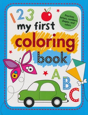 My First Coloring Book  -