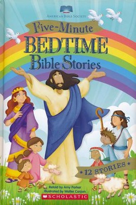 Five-Minute Bedtime Bible Stories   -     By: Amy Parker