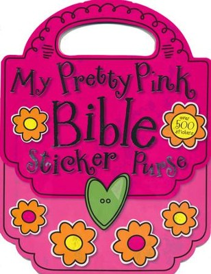 My Pretty Pink Bible Sticker Purse  -