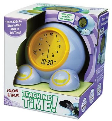 Teach Me Time! Talking Alarm Clock and Nightlight  -