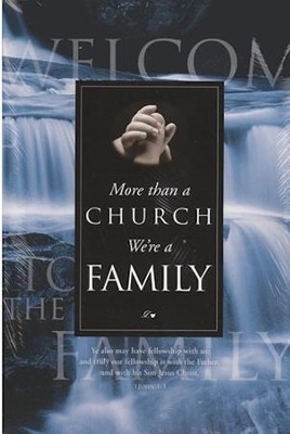 More Than a Church, We're a Family Welcome Folders, 12                                                      -