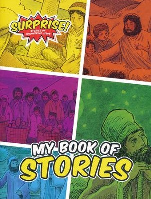 Surprise!: Stories of Discovering Jesus, VBS 2016 Early Childhood Activity Book  -