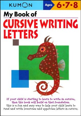 My Book of Cursive Writing: Letters  -