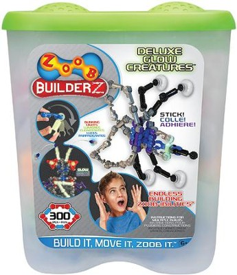 Builderz Deluxe Glow Creatures Set  -