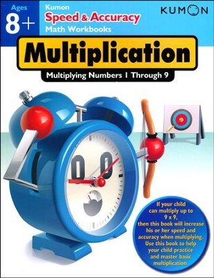 Speed & Accuracy: Multiplying Numbers 1-9  -