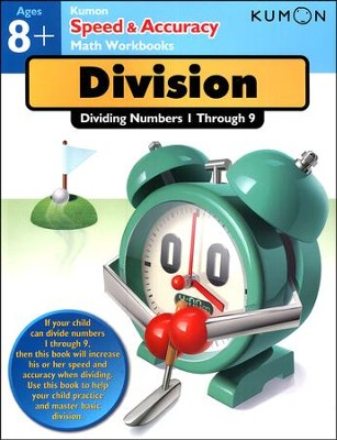 Speed & Accuracy: Dividing Numbers 1-9  -