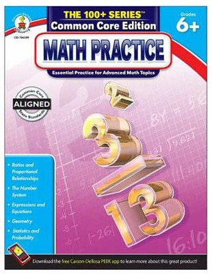 Kelley-Wingate Math Practice, Grade 6+   -