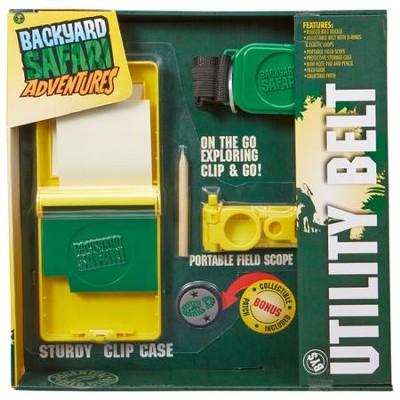 Backyard Safari, Utility Belt  -
