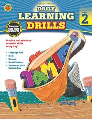 Daily Learning Drills, Grade 2  -