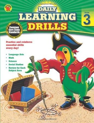 Daily Learning Drills, Grade 3  -