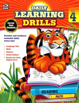 Daily Learning Drills, Grade 4  -